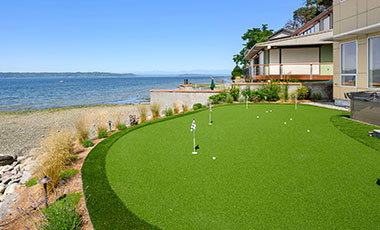 Vacation Home Putting Green